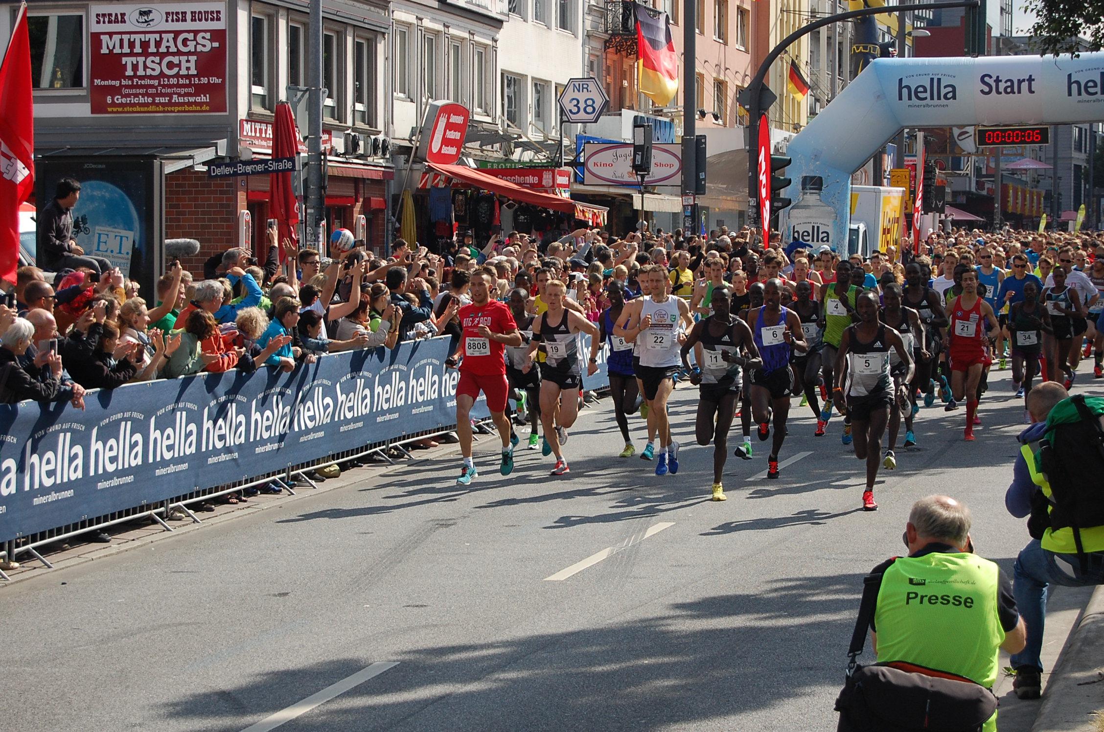22. hella Halbmarathon: Start
