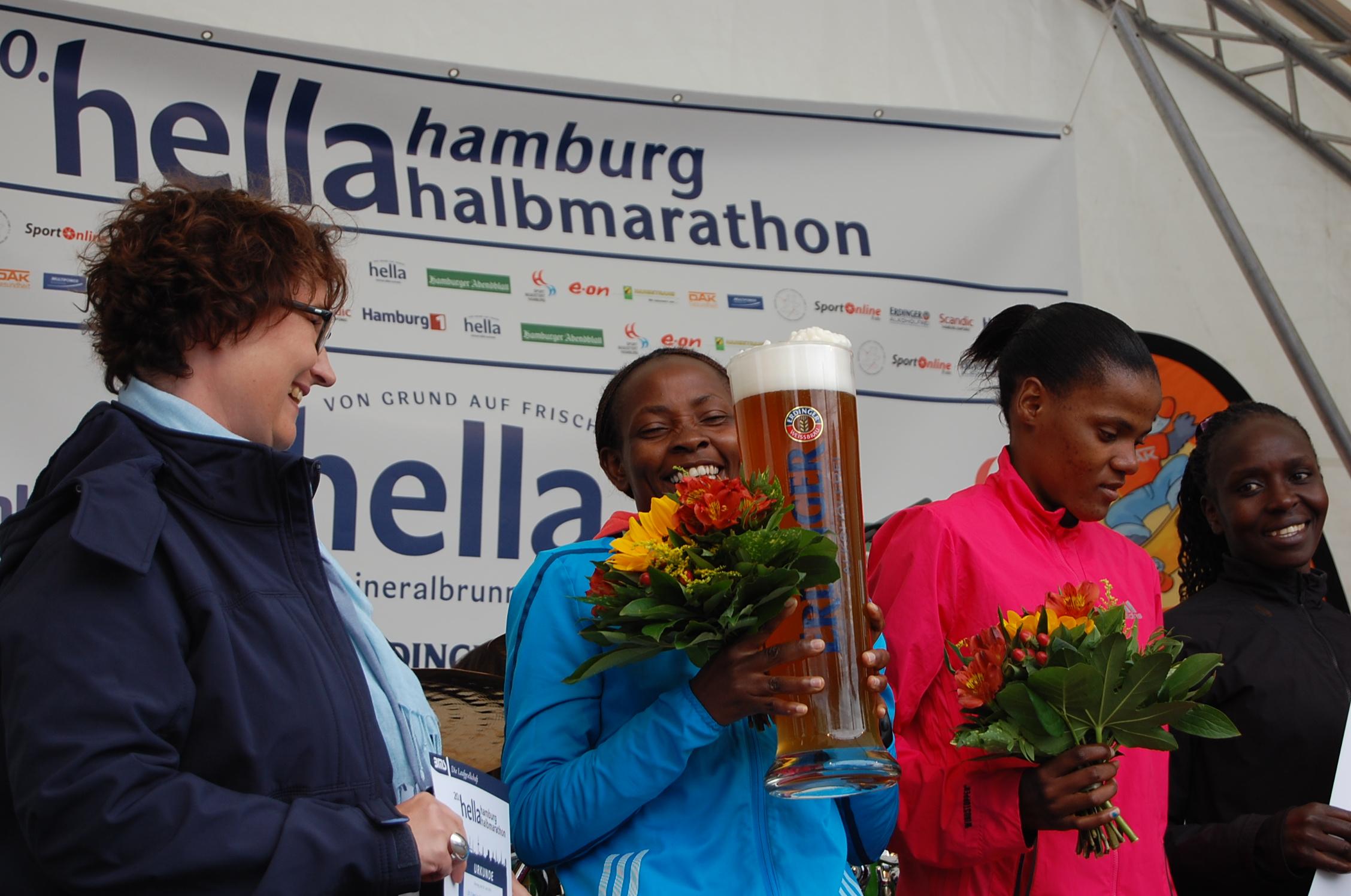 20. hella Halbmarathon: Siegerehrungen